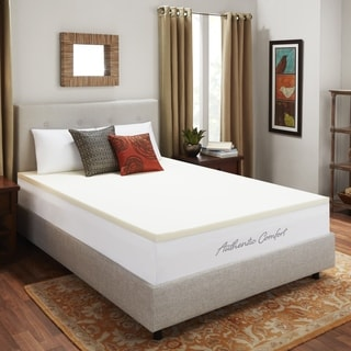 Authentic Comfort 1.5-inch Memory Foam Mattress Topper