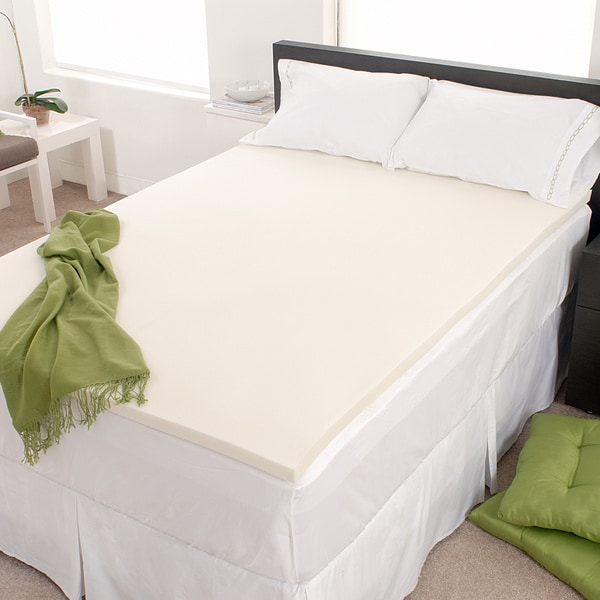 Authentic Comfort Eco-Friendly 2-inch Memory Foam Mattress Topper