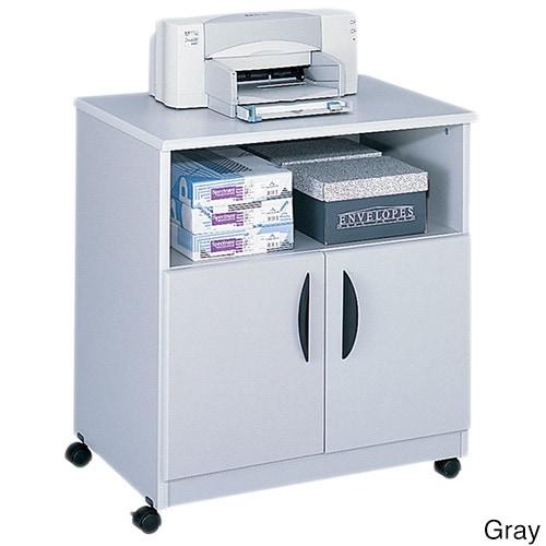 Safco Mobile Machine Stand (Gray), Grey #1850