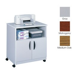 Safco Scoot Under Desk Printer Machine Stand 11179569