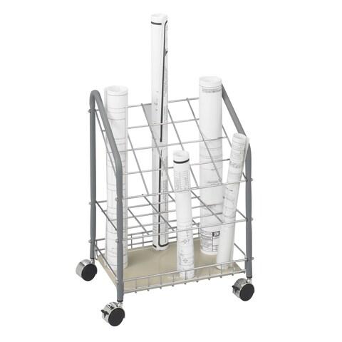 Safco Wire Roll File, 20 Compartment
