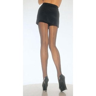 Leg Avenue Back Seam Sheer Pantyhose