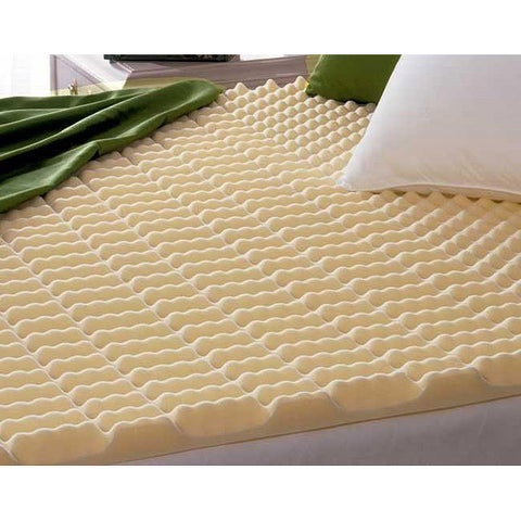 Beautyrest Cut-zoned Convoluted Polyurethane Foam Mattress Topper