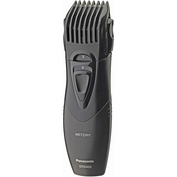 panasonic er2403k portable wet dry hair and beard trimmer free shipping on orders over 45. Black Bedroom Furniture Sets. Home Design Ideas