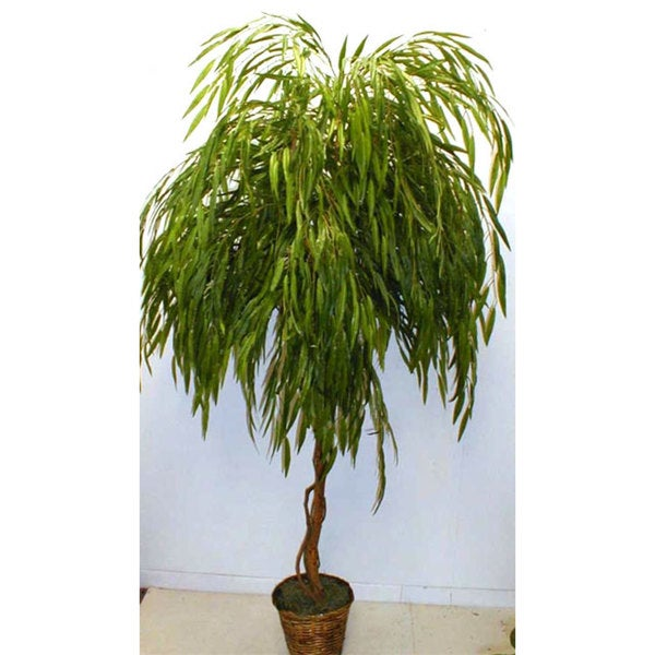 Shop Grand 7-foot Weeping Willow Silk Tree