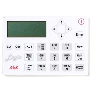 Atek LG10W Logio White Secure Password Organizer