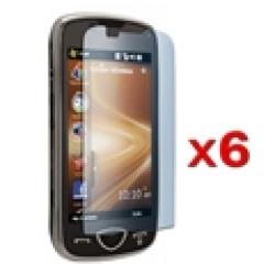 Reusable Screen Protectors for Samsung Omnia II (Pack of 6)