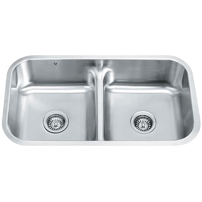 Vigo contemporary 32 inch undermount stainless steel 18 - 18 inch kitchen sink ...