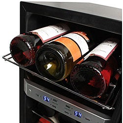 EdgeStar 21-bottle Stainless Steel Wine Cooler Sold by Living Direct - Thumbnail 2