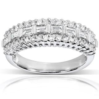 Annello 14k Gold 5/8ct TDW Baguette Diamond Anniversary Band|https://ak1.ostkcdn.com/images/products/3701211/P11763252.jpg?impolicy=medium