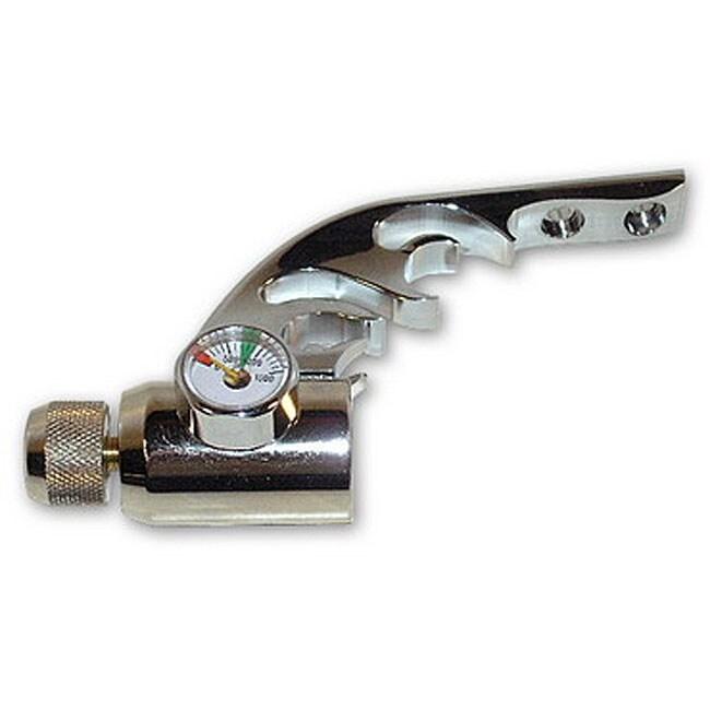 Paintball Gun Chrome Flame Drop Forward Gauge