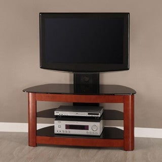 42 in. Corner TV Stand with Removable Mount