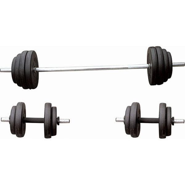 Sunny Health & Fitness No. 061 100-pound Vinyl Weight Set