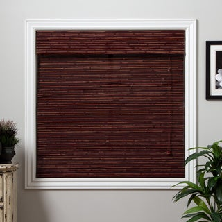 Arlo Blinds Rangoon Bamboo Roman Shade with 54 Inch Height