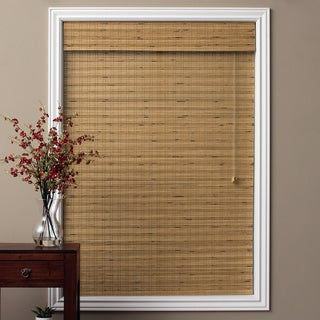 Arlo Blinds Tuscan Bamboo 54-inch Long Roman Shade (As Is Item)
