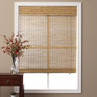 Arlo Blinds Corded Tuscan Bamboo Roman Shade with 74 Inch Height