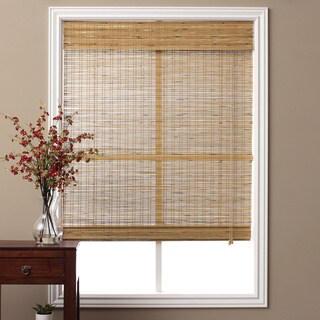 "Tuscan Bamboo Roman Shade 16 to 74"" Wide x 74"" Height (More options available)"