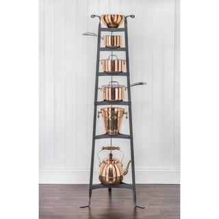 Six-shelf Metal Cookware Stand