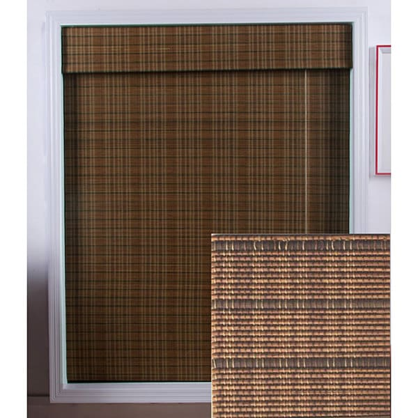 Arlo Blinds Tibetan Bamboo Roman Shade (46 in. x 98 in.)