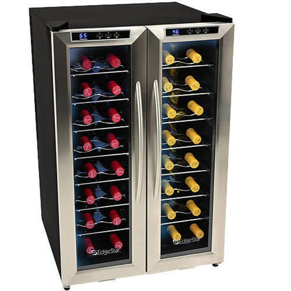 EdgeStar 32-bottle Dual-Zone Wine Cooler Sold