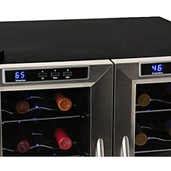 EdgeStar 32-bottle Dual-zone Wine Cooler Sold by Living Direct
