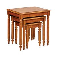 Office Star Knob Hill 3-piece Nesting Table Set