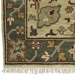 Hand-knotted Southwestern Park Avenue Wool Rug (2'6 x 8') with Free Rug Pad - Thumbnail 1
