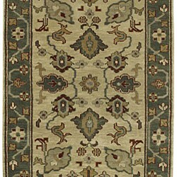 Hand-knotted Southwestern Park Avenue Wool Rug (2'6 x 8') with Free Rug Pad - Thumbnail 2