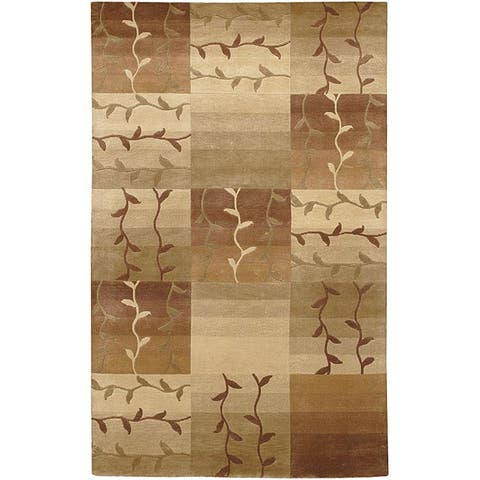 """Hand-knotted Soldeu Wool Area Rug - 2'6"""" x 10' Runner"""