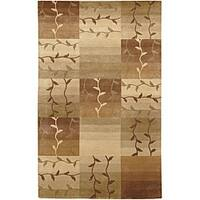 Hand-knotted Soldeu Wool Area Rug - 2'6 x 10'