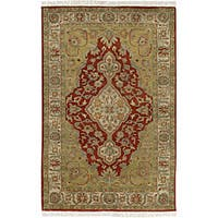 Hand-knotted Soldeu Wool Area Rug (2'6 x 8')