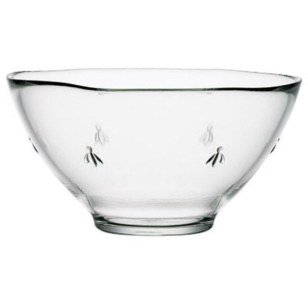 La Rochere 3-quart Bee-Embossed Serving Bowl