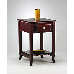 Merlot Accent Table