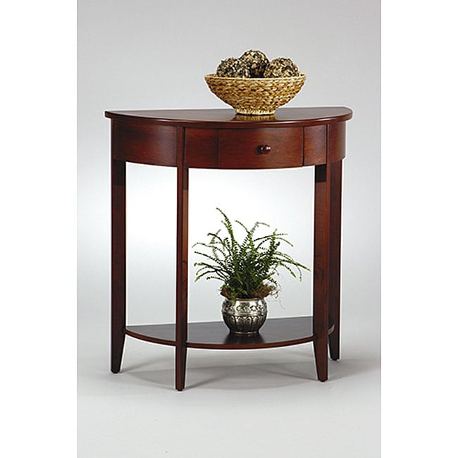 Office Star Madison Hall Walnut Console - Thumbnail 0