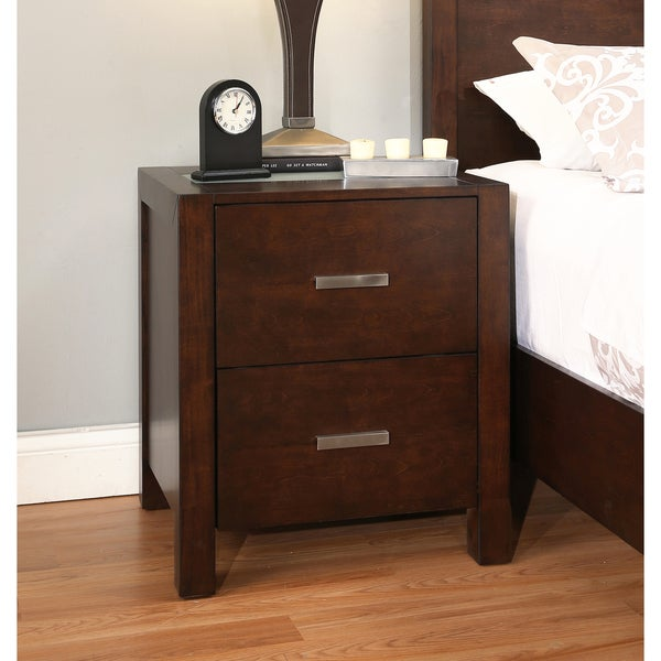 Abbyson Hamptons 2-drawer Nightstand