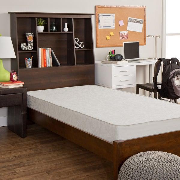 Select Luxury Dorm Reversible 7.5-inch Medium Firm Full-size Foam Mattress
