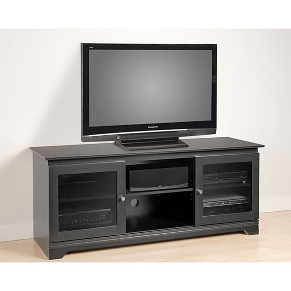 Broadway Black Flat-panel Plasma / LCD TV Console