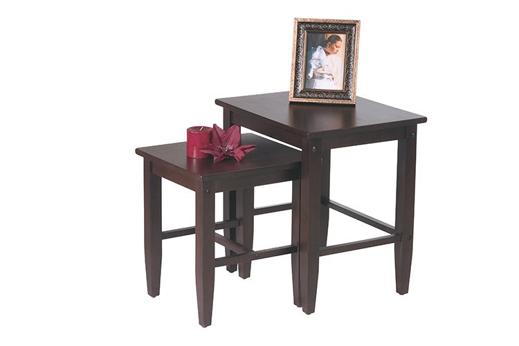 Office Star Expresso 2-piece Nesting Table Set - Thumbnail 1