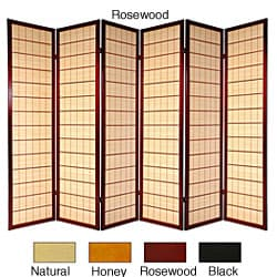 Shop Handmade Spruce Wood and Jute 5 panel Room Divider China 48