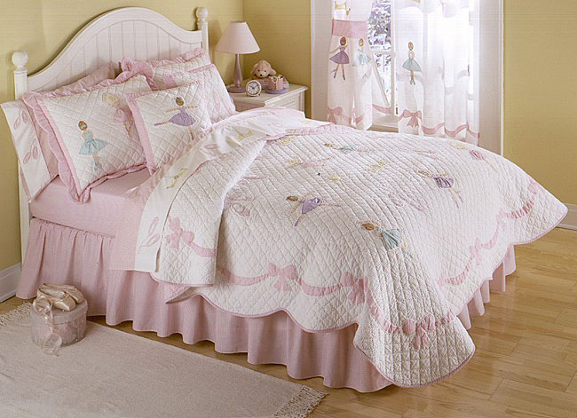 Ballet lessons 3 piece quilt set free shipping today overstock