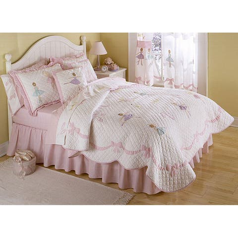 'Ballet Lessons' 3-piece Quilt Set