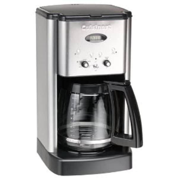 Cuisinart DCC-1200BCFR Black and Stainless Steel 12-Cup Brew Central Coffeemaker (Refurbished)