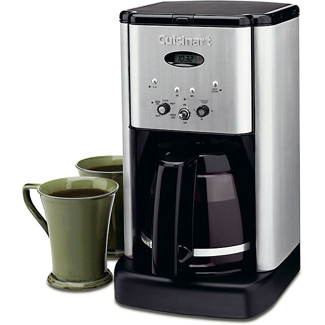 Cuisinart DCC-1200BCFR Black and Stainless Steel 12-Cup Brew Central Coffeemaker (Refurbished) - Thumbnail 0