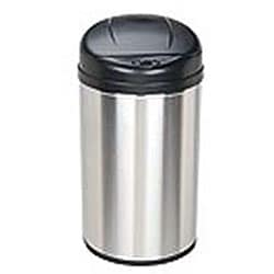 Stainless Steel 10.6-gallon Motion Sensor Trash Can