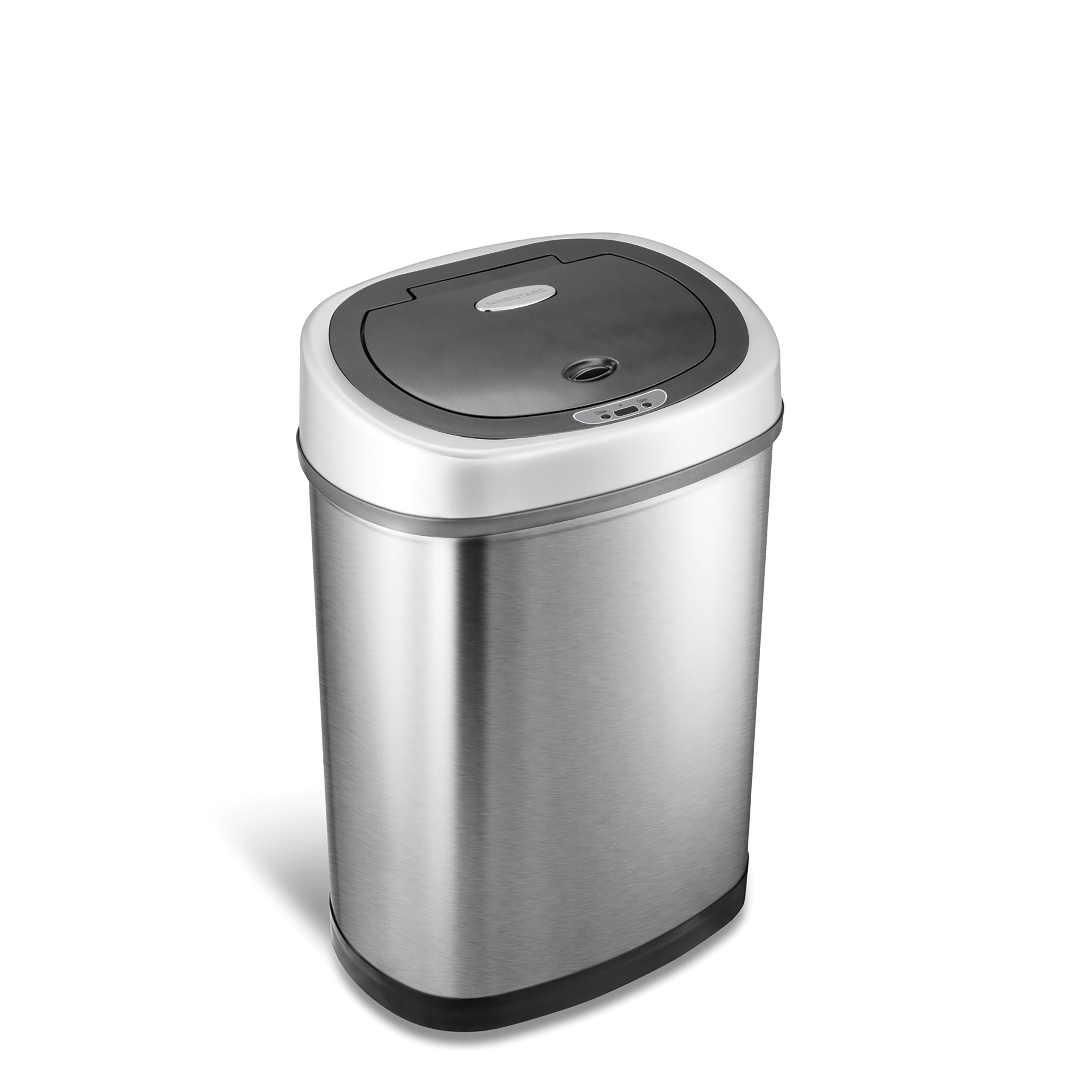 Shop Stainless Steel 11 1 Gallon Motion Sensor Trash Can Free