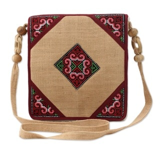 Hemp 'Chiang Kong' Shoulder Bag (Thailand)