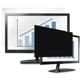 """Fellowes Laptop/Flat Panel Privacy Filter - 24.0"""" Wide Black"""
