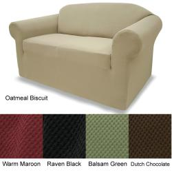 Loveseat Stretch Pique Slipcover