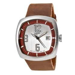 lucky brand s casual brown leather band free