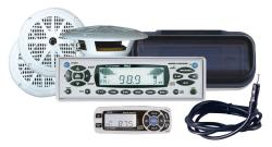 Pyle KTMR16SPCW In-cash Marine CD/MP3 Player and Speaker System - Thumbnail 1